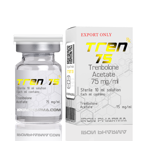 Tren 75 By IRON PHARMA
